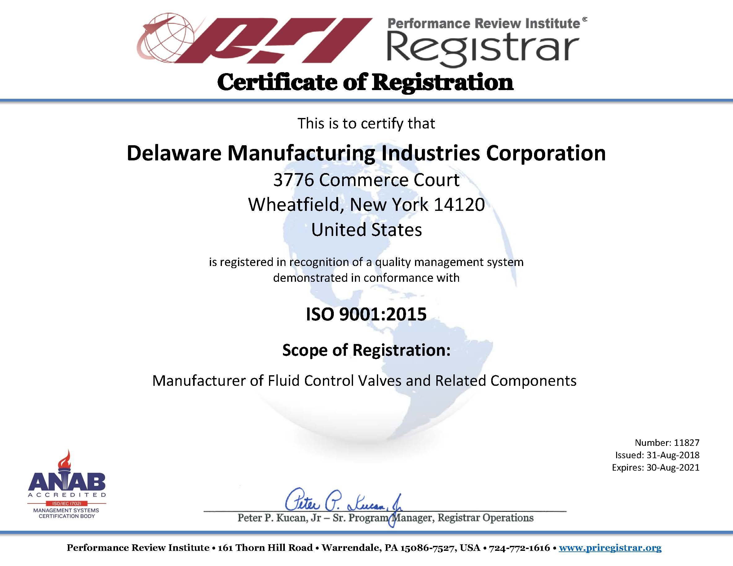 Iso Certification Dmic