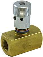 NV2M Brass Needle Valve