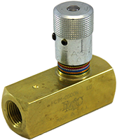 FC1M Brass Flow Control